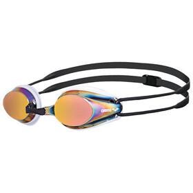 arena Tracks Mirror Okulary pływackie, czarny/biały